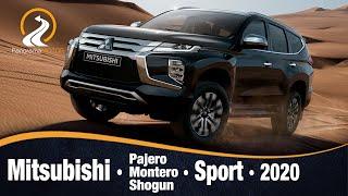Mitsubishi Montero / Pajero / Shogun / Sport 2020 | Primeras Imágenes e Información