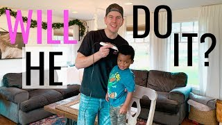 Dad Attempts Hair Cuts at Home - Bad Idea?