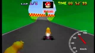 MK64 - former world record on Mario Raceway - 1'27''89 (NTSC: 1'13''10)