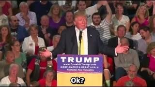 Trump abica do seu salário