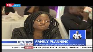 Young women using family planning