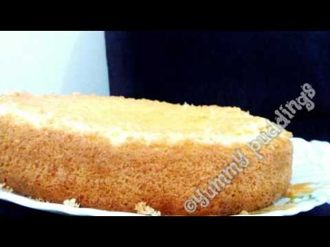 Video Vanilla sponge cake( No butter, No oil)  FOOLPROOF RECIPE