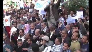 preview picture of video 'المظاهرات تتواصل في دمياط ضد إسرائيل ودعما للمقاومة'