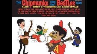 The chipmunks Twist And Shout