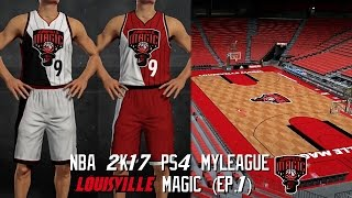 NBA 2K17 PS4 Louisville Magic MyLeague - Team Relocation!!! (EP.1)
