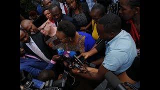 Presiding High Court Judge no-show at James Nyoro\'s swearing-in