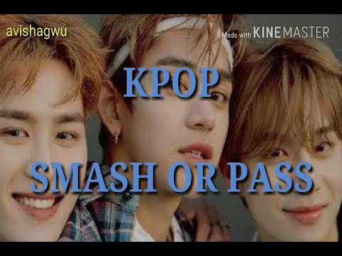 KPOP Smash Or Pass game  -  male idol version (KPOP boy group Edition) long version