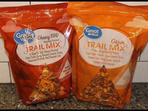 Great Value Trail Mix: Cheesy BBQ & Cajun Review