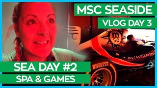S & S Games Begin, Who Will Win?   MSC Seaside Cruise Vlog Day 03