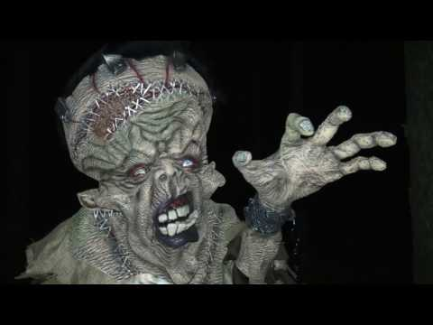 Creepy Monster Adult Costume Video Review