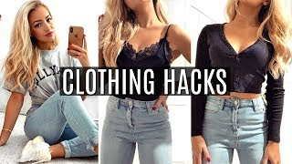 EVERY FASHION HACK YOULL EVER NEED TO KNOW!