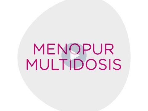Administración Menopur Multidosis