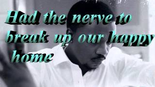 Anthony Hamilton - I tried (Lyrics)