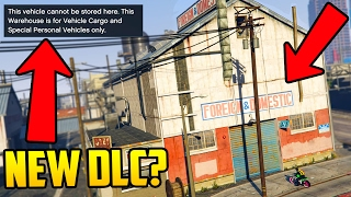 NEW & BETTER VEHICLE WAREHOUSES COMING SOON? NEW CLUE FOUND IN GTA ONLINE