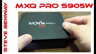 MXQ Pro 4K - Amlogic S905W - Android TV Box review