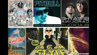 Gangnam style megamix (PSY Pitbull Rihanna Owl city Carly Rae Jepsen SNSD)(with DL site)