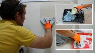 איך להכין קירות לצבע, תיקונים וצבע יסוד