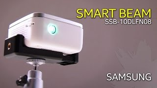 스마트폰 미러링을 위한 최적의 무선 미니빔 프로젝터 삼성 스마트빔 Samsung SMART BEAM
