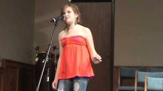 Suddenly by-Ashley Tisdale  Cover - (11 year old) Camryn Boci