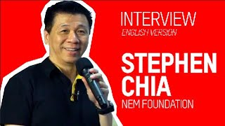 NEM Foundation. Stephen Chia. Interview. English version