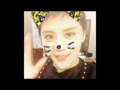 [CJES Instagram] 170118 Junsu using Snow app