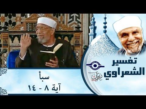 الشيخ الشعراوي | تفسير سورةسبأ، (آية ٨-١٤)