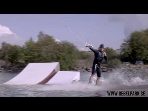 Wakeboardåkning i Bromölla Cable Park inkl. all utrustning