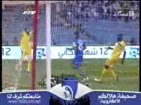 دوري عبداللطيف جميل ، الجولة 20 ، هدف ياسر القحطاني ، الهلال VS التعاون ، 1-0