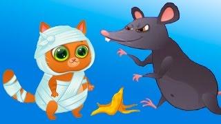 КОТЕНОК БУБУ #1 - Мой Виртуальный Котик - Bubbu My Virtual Pet игровой мультик для детей #ПУРУМЧАТА
