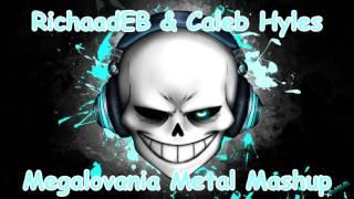 Undertale - Megalovania Metal Mashup (RichaadEB & Caleb Hyles)