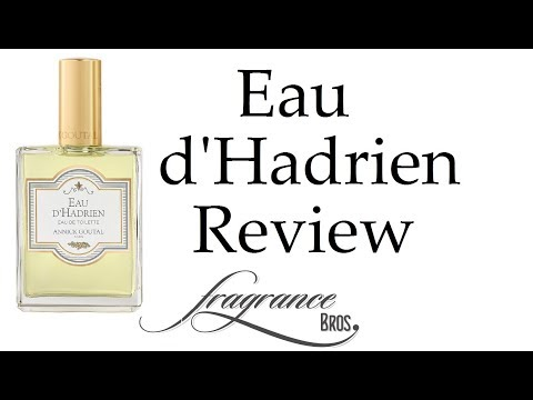 Eau d'Hadrien by Annick Goutal Review! The BEST lemon scent!