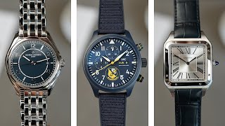 Talking Watches with Mr Porter - IWC, Cartier, VC