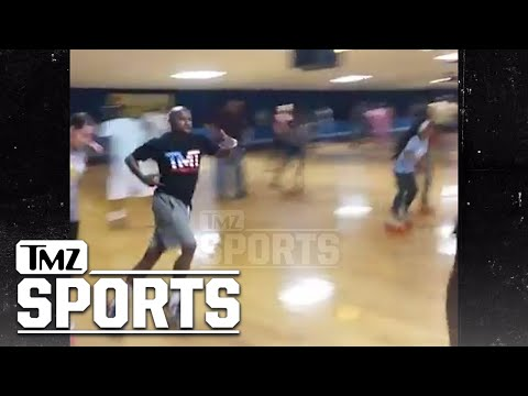 Floyd Mayweather Is the Greatest Roller Skater Alive! | TMZ Sports