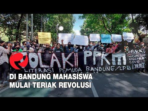Di Bandung Mahasiswa Mulai Teriak Revolusi
