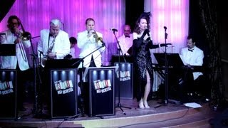 "Laura Shaffer sings Benny Goodman's hit, ""And the Angels Sing"" at The Copa Room in Vegas"