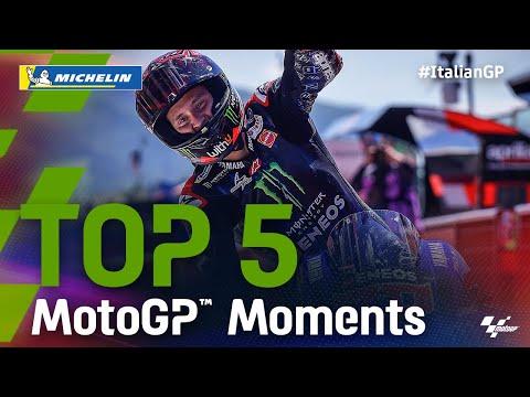 ファビオ・クアルタラロが優勝!MotoGP 2021 第6戦イタリア 決勝ハイライト動画