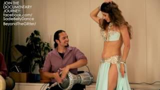 Sadie Bellydance and David Hinojosa: Improvisation Drum Solo 2016