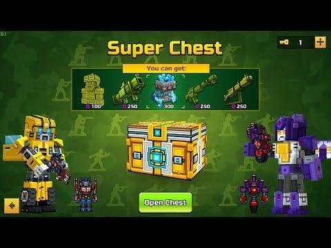 Super Chest Opening for Real Money - Pixel Gun 3D