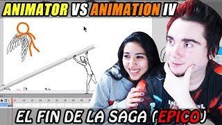 EL FIN DE LA ANIMACION MAS EPICA (ANIMATION VS ANIMATOR IV) | DeiGamer