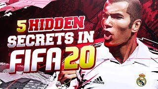 5 THINGS YOU NEED TO KNOW ABOUT #FIFA20 ! - FIFA 20 Ultimate Team
