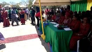 Eliza Maliganya Akitumbuiza Katka Mktano Wa Wanawake Tanzania