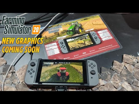 Farming Simulator 2020 Preview Nintendo Switch | NEW GRAPHICS |  COMING SOON | GAMESCOM