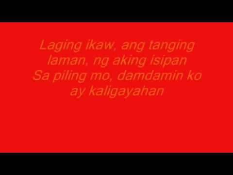 Laging Ikaw by Jed Madela With Lyrics