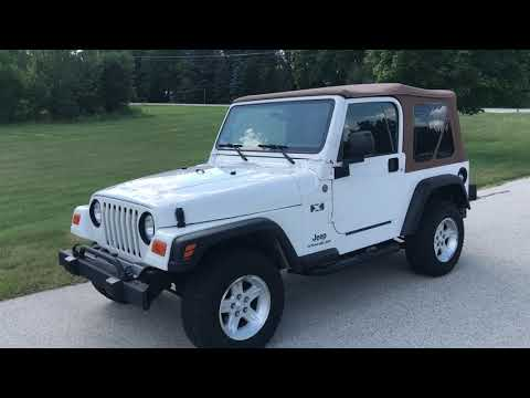 2004 Jeep Wrangler X in Big Bend, Wisconsin - Video 1