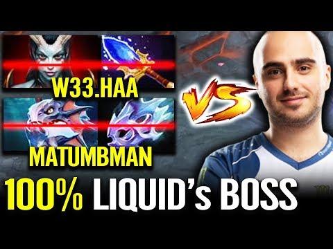 Kuroky SHUT DOWN W33 & Matumbaman - Liquid Captain Support Witch Doctor Dota 2
