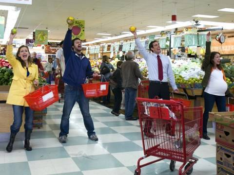 Grocery Store Musical — Improv Everywhere