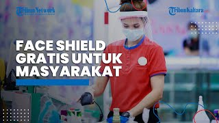 Dukung Tenaga Kesehatan Hadapi Pandemi, Rotary Indonesia Bagikan 144.000 Ribu Face Shield