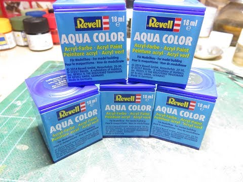 Revell Aqua Paints - Review (sort of)