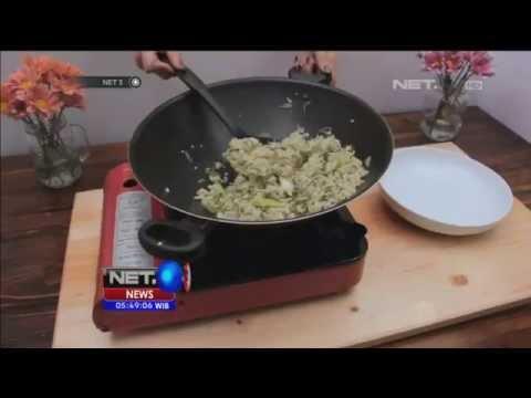 Video Bikin Bekal Nasi Goreng Hijau - NET5