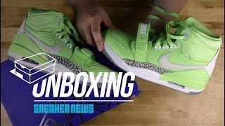 "Unboxing The Jordan Legacy 312 ""Ghost Green"""